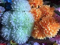Высокий пышный букет Искусственные цветы разные цвета в упаковке , фото 1