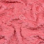 Плюш minky кораллового цвета М-11132, фото 7
