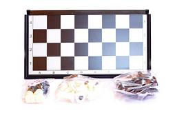 Шахматы, шашки, нарды. Набор игор 3 в 1 с магнитом, 24,5*12,5см
