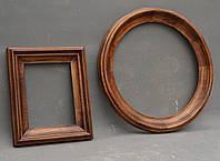 Круглая рама для зеркала на заказ любого размера, цвета и сложности.
