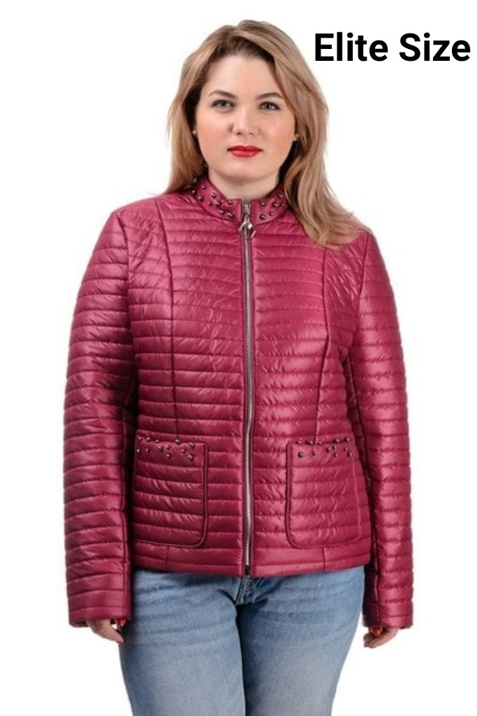 Демисезонная куртка  в большом размере  50,52,54,56