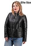 Демисезонная куртка  в большом размере  50,52,54,56, фото 8