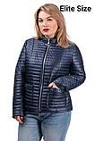 Демисезонная куртка  в большом размере  50,52,54,56, фото 9