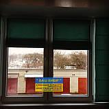 Римские шторы с ткани на балкон, фото 6