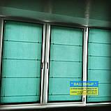 Римские шторы с ткани на балкон, фото 3