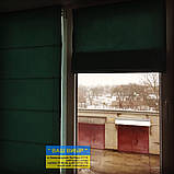 Римские шторы с ткани на балкон, фото 4