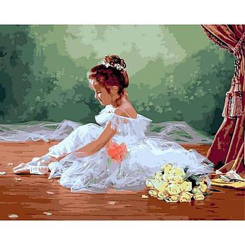 "Картина по номерам ""Балеринка. Худ. Лиза Джейн"", 40x50 см Babylon"