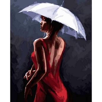 Картина по номерам Грация под дождем. Худ. Ричард Макнейл, 40x50 см Babylon