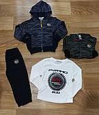Трикотажный  костюм - тройка для мальчиков Sincere оптом, 80-110 pp.