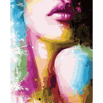 "Картина по номерам ""Силуэт незнакомки. Худ. Патрис Мурчиано"", 40x50 см Babylon"