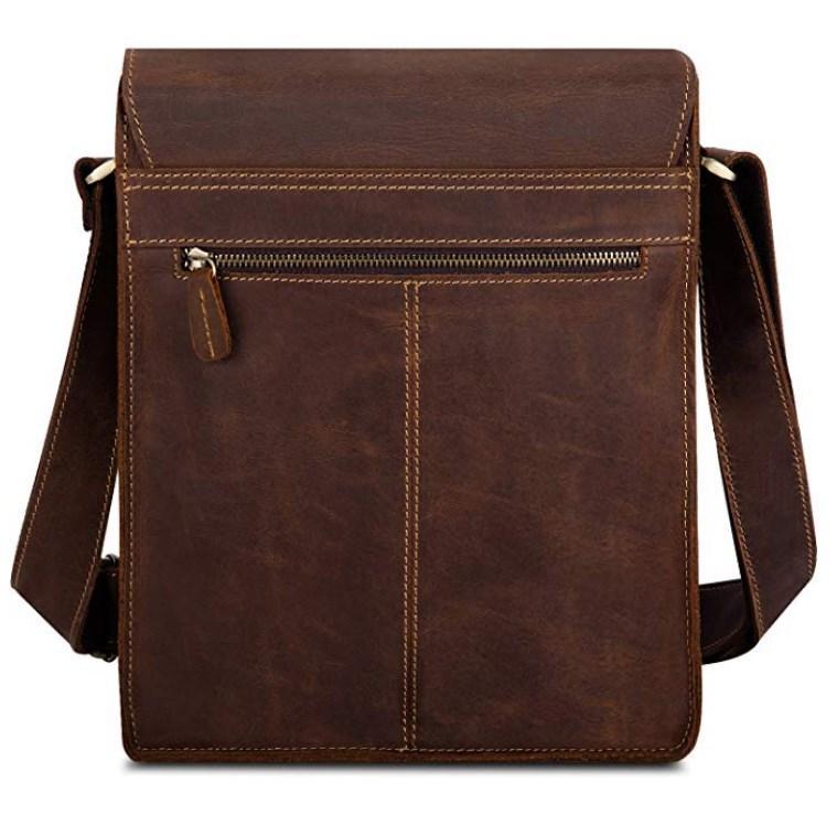 61288c9f0f88 Мужская кожаная сумка,мужская сумка из натуральной кожи через плечо Tiding  Bag t0034
