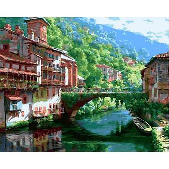 Картина по номерам Прекрасный вид. Худ. Сунг Сам Парк, 40x50 см., Babylon