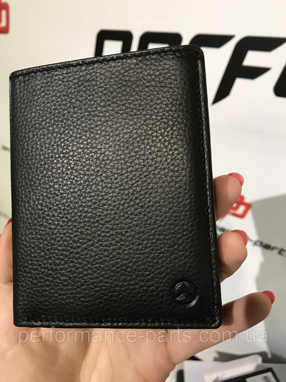 Кожаный кошелек Mercedes-Benz Wallet, b66953717