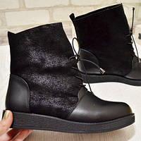 Широкие ботинки женские, фото 1