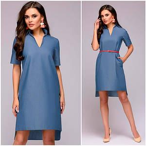 Джинсовое платье рубашка Inna (Код MF-423)
