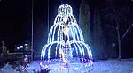 3D-піксельний фонтан у Старокостянтинові. Новий рік 2019.