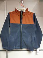 Кофта Детская на мальчика Болоневая Флисовая Куртка Легкая