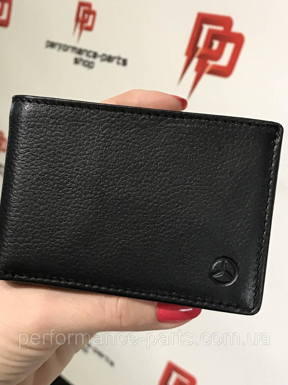 Кожаное портмоне Mercedes-Benz Mini Wallet B66953718