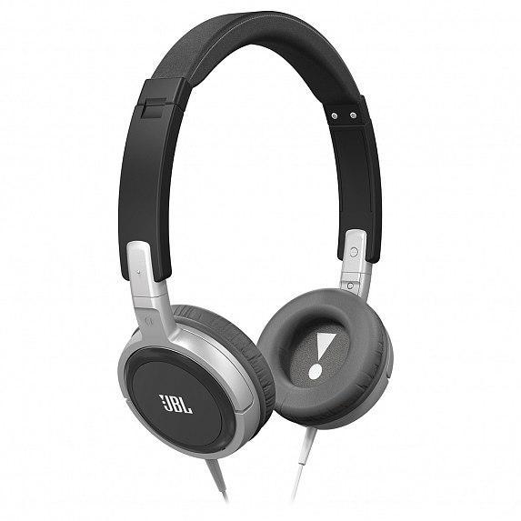 Наушники JBL On-Ear Headphone T300A Black/Silver (T300ABNS)
