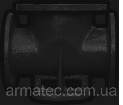Подставка проходная Чугунная Ду150