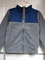 Кофта Детская на мальчика Болоневая Флисовая Куртка Легкая Картерс