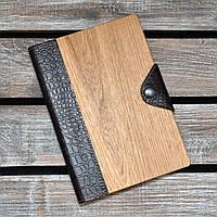 Блокноты с деревянной обложкой. (А00305), фото 1