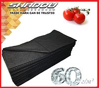"""Чёрный 4% спандбонд 60 г/м² (1.6 х 5 м.) ТМ """"Shadow"""" (Чехия), фото 1"""