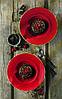 Тарелка круглая 26 см. керамическая, красная Stonecast Berry Red, Churchill, фото 4