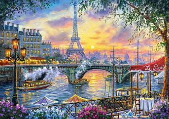 Картина по номерам Париж на закате 40 х 50 см (VP1030)