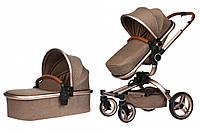 Детская универсальная коляска 2 в 1 Miqilong V Baby X159 02