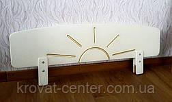 """Белый защитный бортик для детской кровати """"Солнышко"""", фото 3"""
