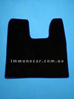 Средний велюровый авто коврик в кабину SCANIA  R-серия с 2004 г. синий