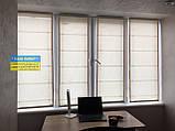 Римские шторы с ткани на балкон, фото 2