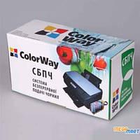 Комплект перезаправляемых картриджей ColorWay Canon MG6140 chip (6х100мл) (MG6140RC-6.1P)
