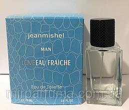 Копия люкс качества jeanmishel Love Man Eau Fraiche 60ml оптом