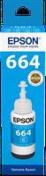 Контейнер з чорнилом Epson L100/ L200 Cyan (C13T66424A)
