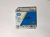 Цепь Z8.1 хром серебро на 8-9-ск. трансмиссию