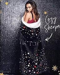 П,  Мягкий плюшевый плед от Виктории Сикрет Victoria Secret Оригинал
