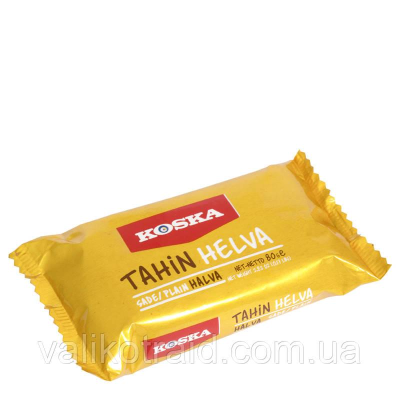 Тахиновая халва KOSKA 80 гр , турецькі солодощі