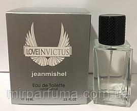 Мини парфюм мужской jeanmishel Love Invictus 60ml опт