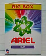 Стиральный порошок для цветных тканей Ariel Color 3,75кг (50 стирки)