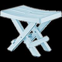 Табурет складаний 35x25x28 см блакитний Irak Plastik