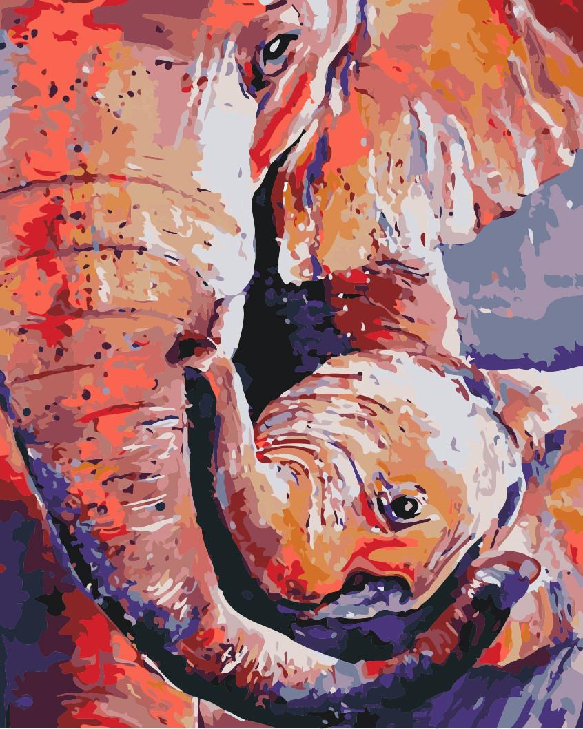Картина по номерам Мамина любовь, 40x50 см Идейка