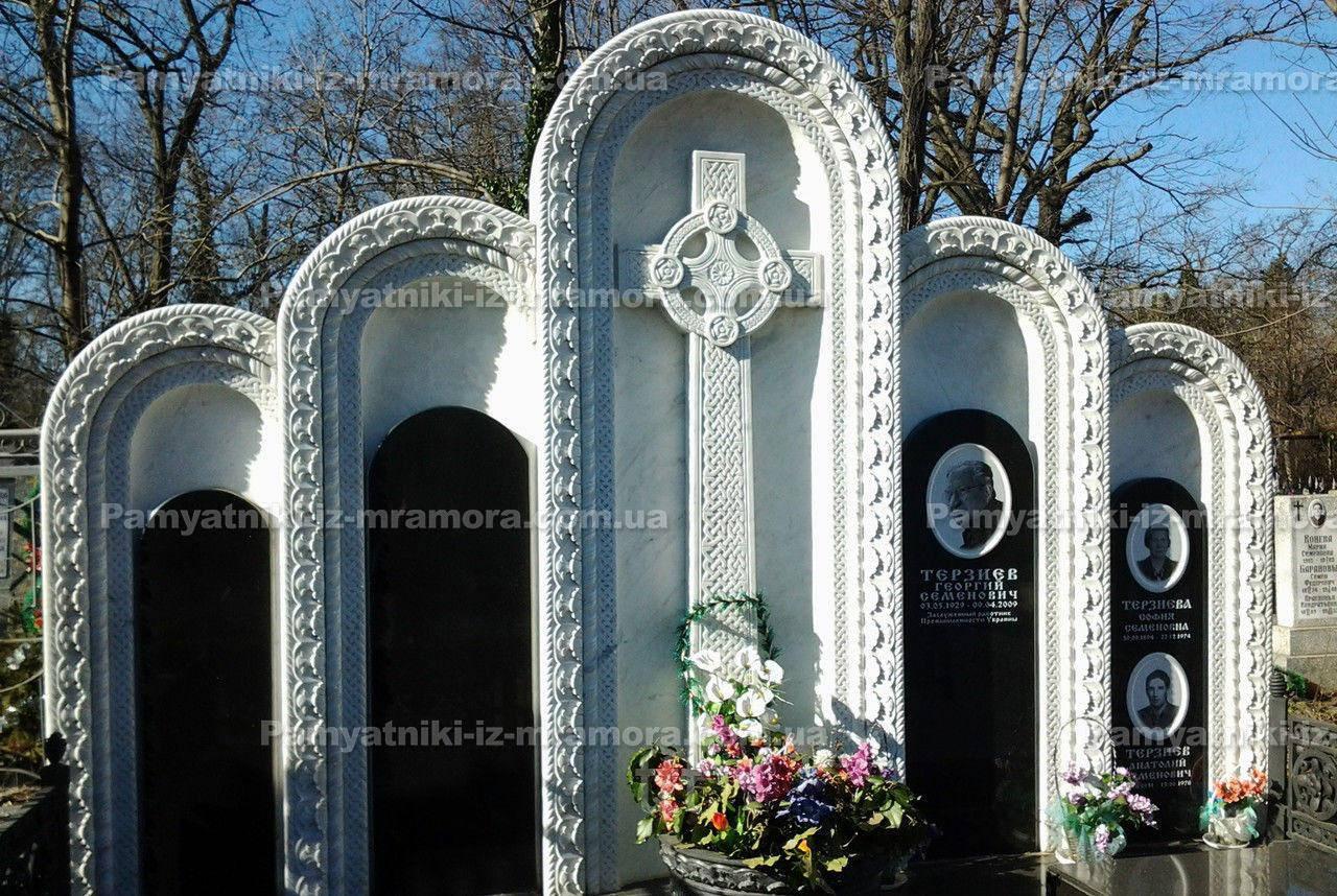 Памятники из мрамора №6