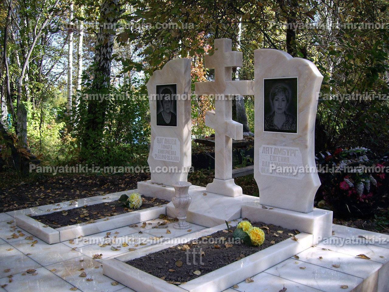 Мемориальные памятники из мрамора №8