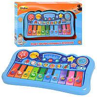 Детское сенсорное пианино, музыка, звуки животных, режим записи, WinFun 2079 NL