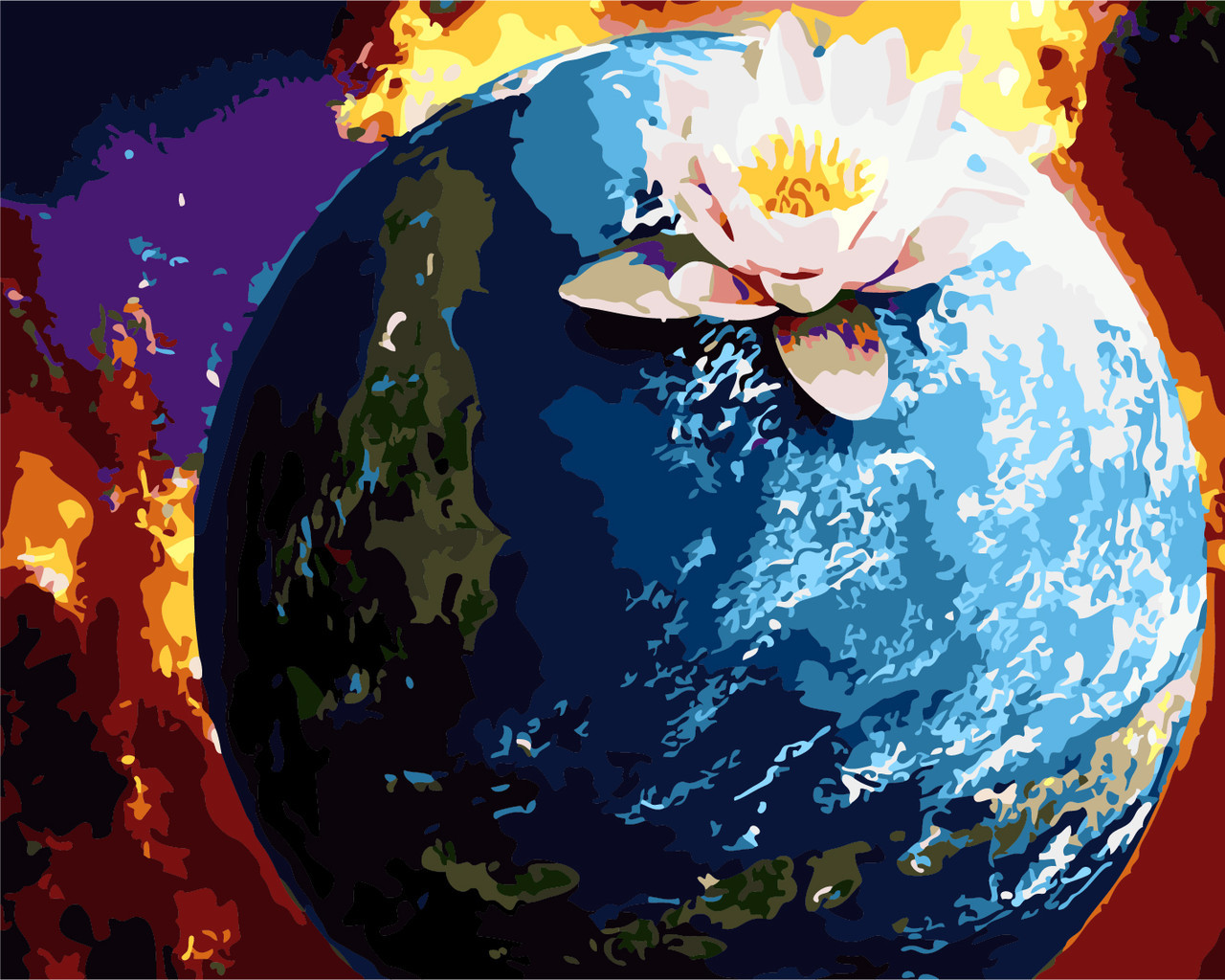 Картина по номерам Планета, 40x50 см Art Story