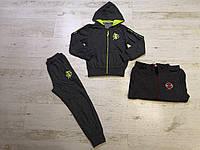 Спортивный костюм 2 в 1 для мальчика оптом, Sincere, 134-164 см,  № LL-2672, фото 1