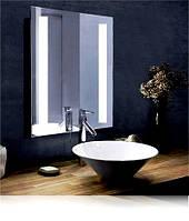 Зеркало для ванной с подсветкой влагостойкое 600 х 700