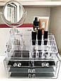 Органайзер для косметики и аксессуаров женский  с зеркалом 4 дверный органайзер для духов и косметики, фото 5